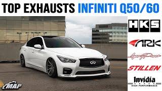 top 5 infiniti q50 q60 exhausts