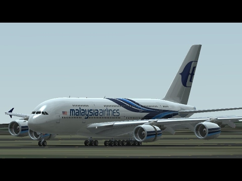 Malaysia Airlines Airbus A380 on Infinite Flight Simulator