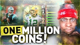 ONE MILLION COIN DRAFT CHAMPIONS WAGER VS SUBSCRIBER! NO TRASH TALKING THIS TIME!