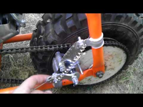 How To Make A Band Brake For Mini Bike Doovi
