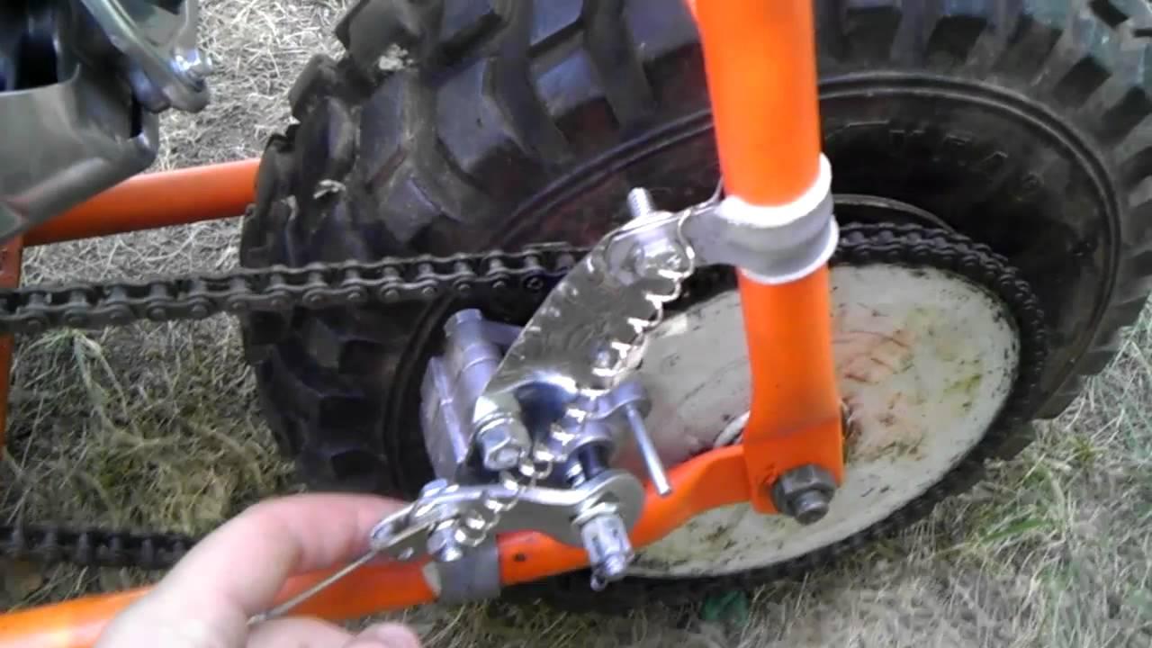 Mini Bike Finished Project Youtube