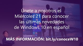 MIcrosoft Insider en Directo: Windows 10 - Presentación a los medios