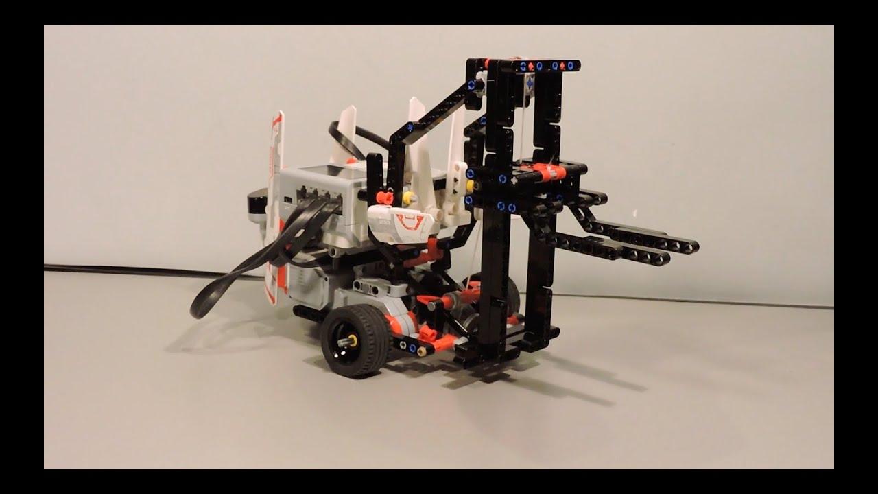 Lego Mindstorms EV3 Forklift - Lego Mindstorms Creations ...