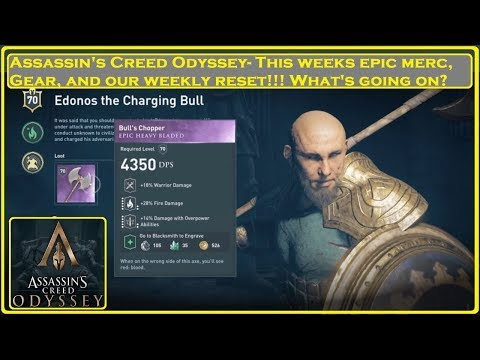 Assassin's Creed® Odyssey- Weekly Reset and Epic Mercenary thumbnail