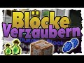 BLÖCKE und ITEMS per COMMAND VERZAUBERN! (Minecraft-Tutorial)