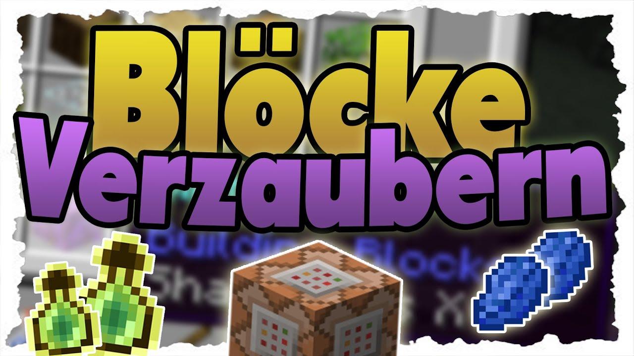 BLÖCKE Und ITEMS Per COMMAND VERZAUBERN MinecraftTutorial YouTube - Minecraft spielerkopfe liste