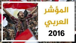 المؤشر العربي 2016.. الرأي العام العربي تجاه قضايا المنطقة
