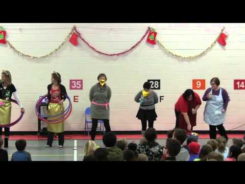 Wilkins Staff Holiday Skit 2015