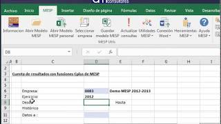 Funciones MESP 1/3 - Obtención de datos contables y generación de informe personalizado (PyG)