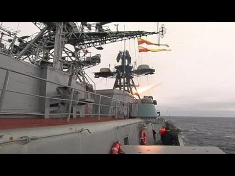 Russian Navy vessels test fire-power amid nationwide drills