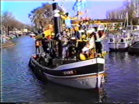 Sinterklaas Intocht & Wandeltocht Sneek 1983, 1985, 1989