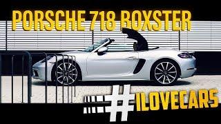 Porsche 718 Boxster Test Fahrbericht review german 2016 - #ilovecars