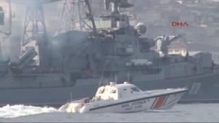Rus savaş gemileri İstanbul Boğazı'ndan geçti - Anadolu Türk Haber