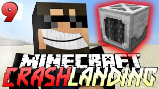 Minecraft Crash Landing 9 - SECURITY SYSTEM GRINDER