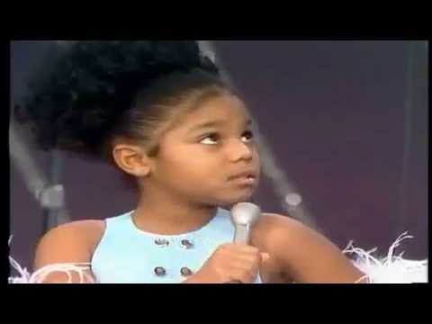 Janet Jackson Makes her first TV Debute
