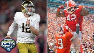 Notre Dame vs. Clemson Preview | 2018 College Football Playoff Semifinal At Cotton Bowl