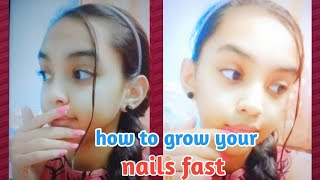 How to grow your nails fast   My nail growth routine   Pari Verma.