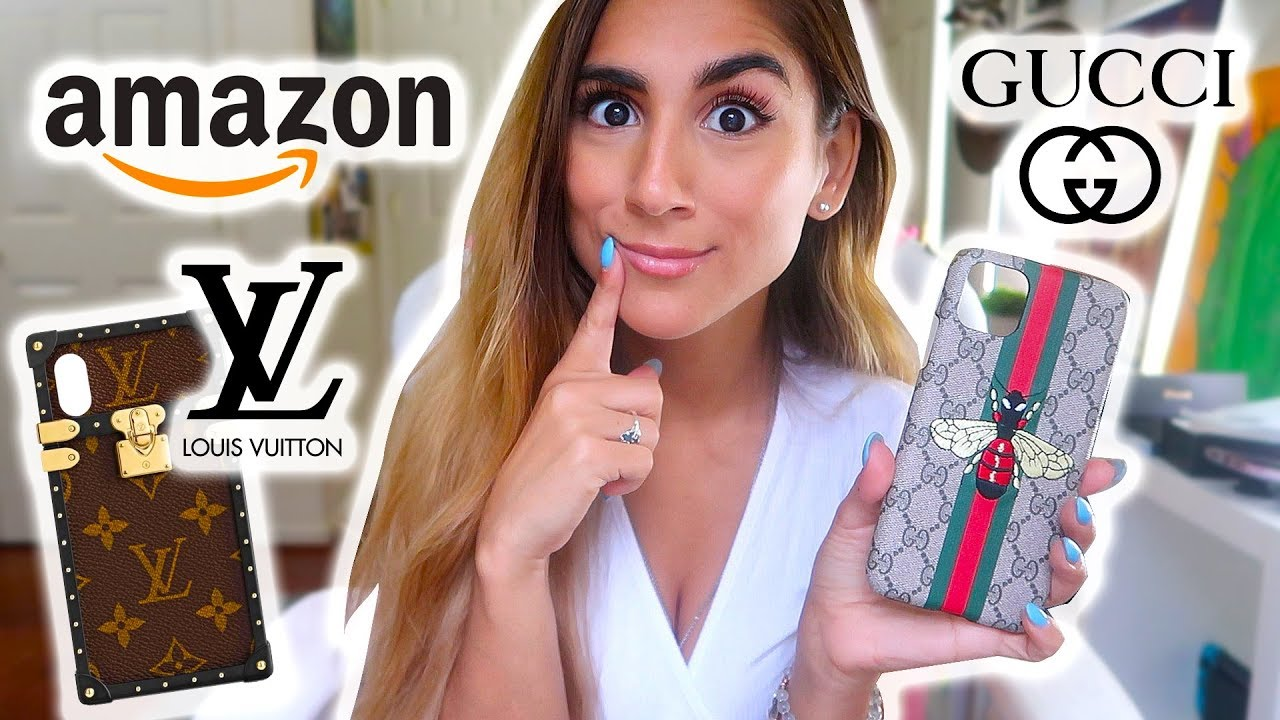 I BOUGHT FAKE DESIGNER IPHONE 11 PRO MAX CASES FROM AMAZON!