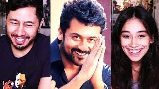THAANAA SERNDHA KOOTAM | Suriya | Teaser Trailer Reaction w/ Andrea!