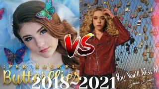 Piper Rockelle  vs Jenna Davis|| Music Evolution(2018-2021)