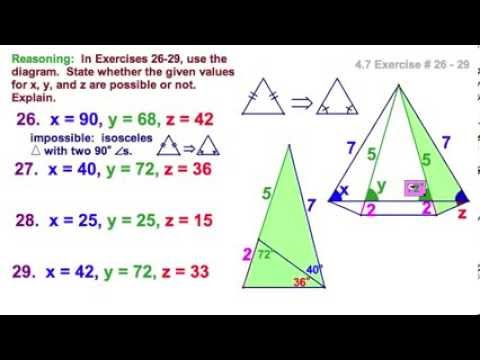 Copy Of 47 Base Angles Theorem Converse And Corollaries Lessons
