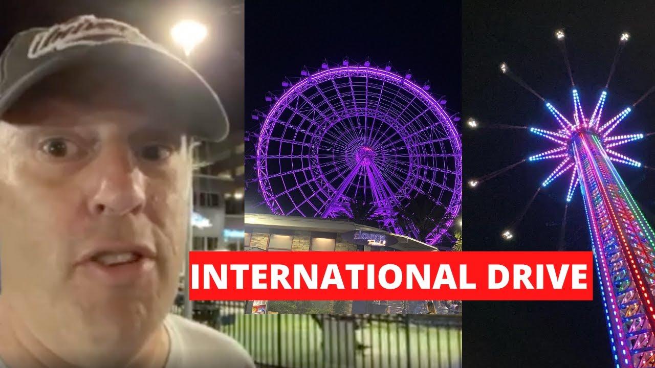 QUE HACER EN LA INTERNATIONAL DRIVE - retransmisión vivo de enero