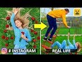 Instagram vs Real Life! Phone Photo DIY Life Hacks