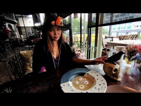 A goth restaurant in Bangkok