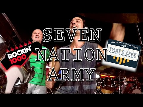 Rockin'1000 - That's Live - Seven Nation Army (night show)