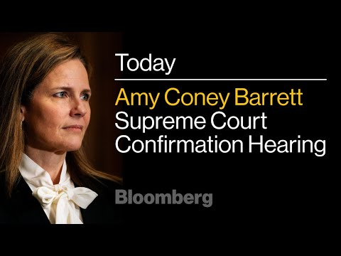 LIVE: Amy Coney Barrett's Supreme Court Confirmation Hearing   Day 2