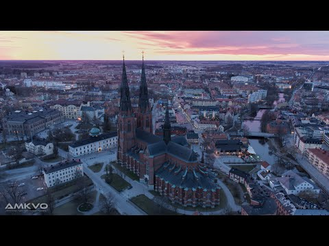 Uppsala from above