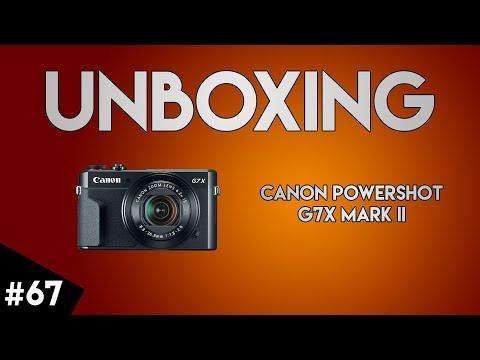 [UNBOXING] Canon Powershot G7X Mark II + JOBY