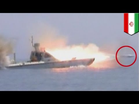 Iran weapons: Iran test-fires high speed Hoot torpedo in Strait of Hormuz - TomoNews