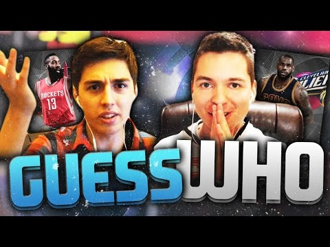 CRAZY GUESS WHO ON NBA 2K16 - VS TDPRESENTS