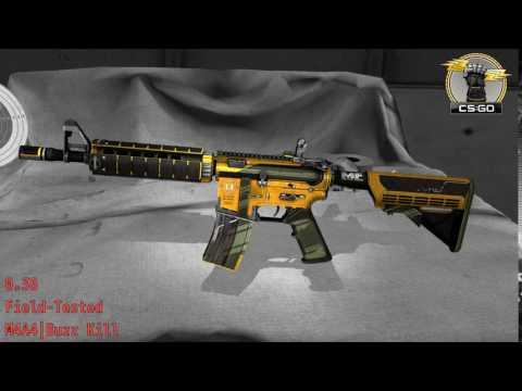 M4A4  Buzz Kill  Wear/Float