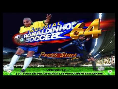 Ronaldinho Soccer 64 - Instrumental - YouTube