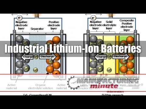 Manufacturing Minute: Industrial Lithium-Ion Batteries