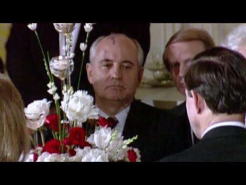 Whispers of a coup against Soviet leader Gorbachev