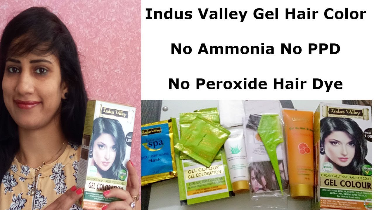 Indus Valley Gel Hair Color Review No Ammonia No PPD Hair Dye in ...