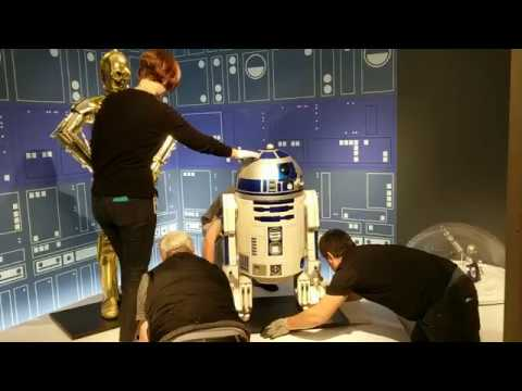 Star Wars And The Power Of Costume Droid Installation, St. Petersburg Museum of Fine Arts (1 of 2)