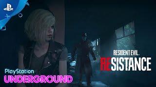 Resident Evil Resistance - 4v1 Gameplay | PlayStation Underground