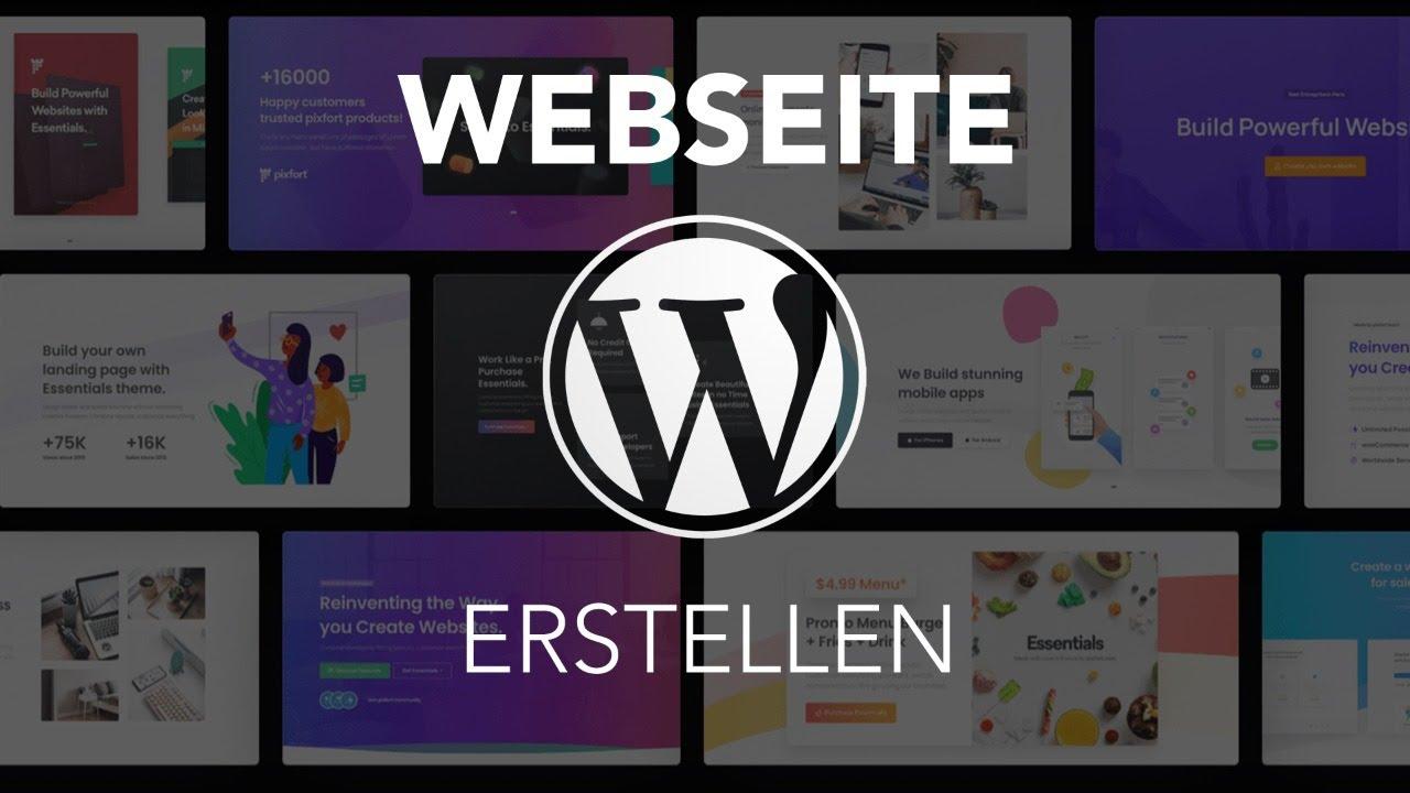 Wir erstellen/überarbeiten eine Webseite mit Wordpress (Live)