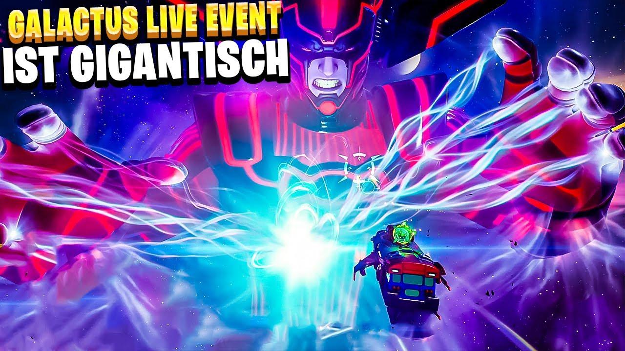Download SEASON 5 BEGINNT 😍 DAS GALACTUS LIVE EVENT | Fortnite Deutsch