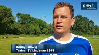 2018 05 21 Ronny Ludwig, Trainer des SV Lindenau 1848, zur Niederlage bei SV Eintracht Leipzig-Süd