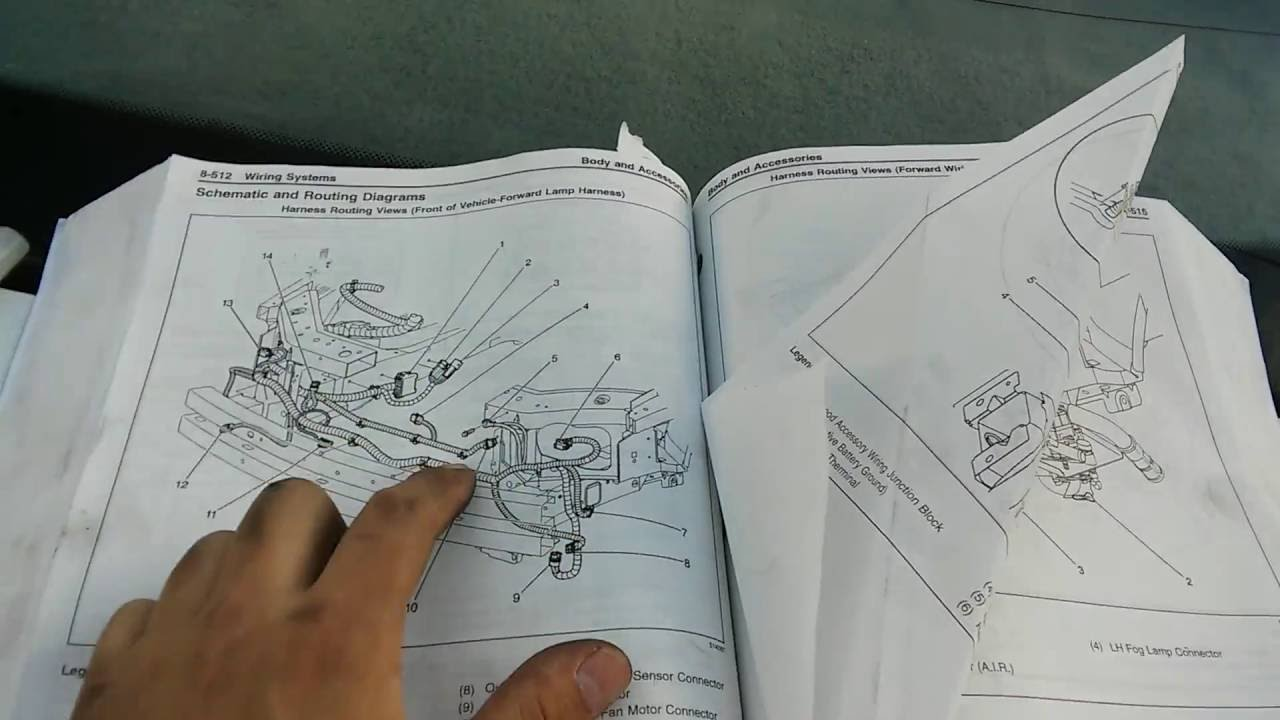 2001 Impala Blower Wiring Diagram Internal Diagrams 2005 Chevy Headlight 2000 Cooling Fan Problem Youtube