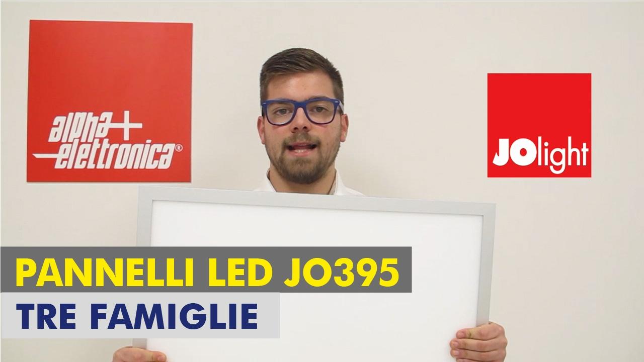 Pannelli led JOlight - Serie JO395 - YouTube