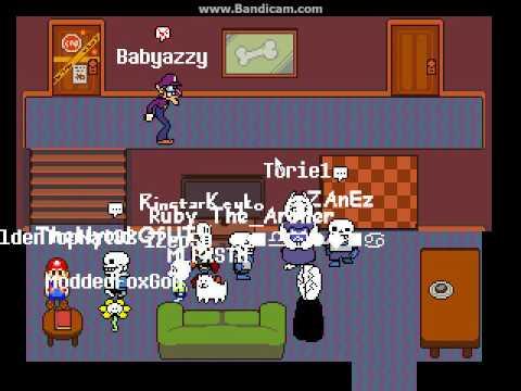 mysterytale online multiplayer undertale fan game youtube