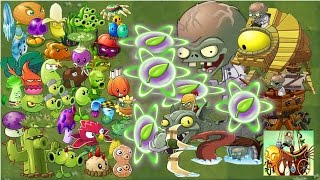 plants vs zombies 2 it s about time all plant power up vs all 10 zomboss battles pvz 2 gameplay