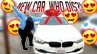 SURPRISING MY SISTER WITH HER DREAM CAR! *EMOTIONAL*
