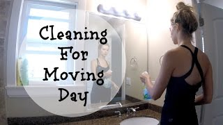 Cleaning For Moving Day